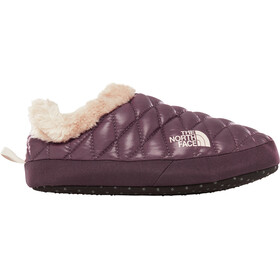 The North Face ThermoBall Tent Mule Faux Fur IV Shoes Women Shiny Fig/Vintage White